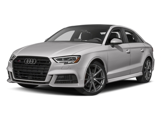 Florett Silver Metallic 2017 Audi S3 Pictures S3 Sedan 4D S3 Premium Plus AWD I4 Turb photos front view