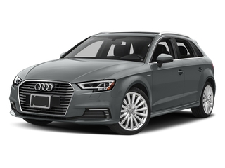Monsoon Gray Metallic 2017 Audi A3 Sportback e-tron Pictures A3 Sportback e-tron Hatchback 5D E-tron Premium Plus photos front view