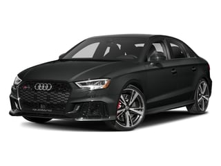 Mythos Black Metallic 2017 Audi RS 3 Pictures RS 3 Sedan 4D RS3 AWD photos front view