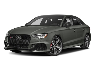 Daytona Gray Pearl Effect 2017 Audi RS 3 Pictures RS 3 Sedan 4D RS3 AWD photos front view