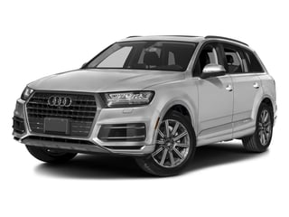 Glacier White Metallic 2017 Audi Q7 Pictures Q7 2.0 TFSI Premium photos front view