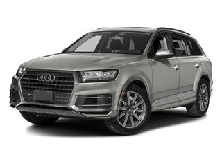Graphite Gray Metallic 2017 Audi Q7 Pictures Q7 2.0 TFSI Premium photos front view
