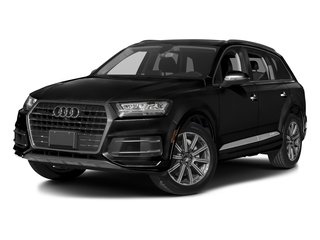 Night Black 2017 Audi Q7 Pictures Q7 2.0 TFSI Premium photos front view