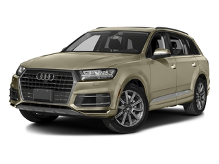 Carat Beige Metallic 2017 Audi Q7 Pictures Q7 2.0 TFSI Premium photos front view