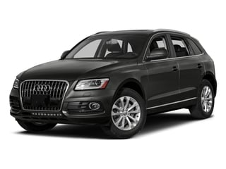 Lava Gray Pearl Effect 2017 Audi Q5 Pictures Q5 Utility 4D 3.0T Premium Plus AWD photos front view