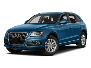 Sepang Blue Pearl Effect 2017 Audi Q5 Pictures Q5 Utility 4D 3.0T Premium Plus AWD photos front view