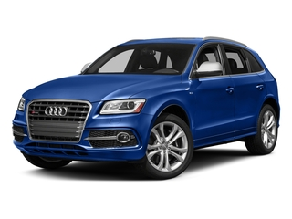 Sepang Blue Pearl Effect 2017 Audi SQ5 Pictures SQ5 Utility 4D Premium Plus AWD V6 photos front view