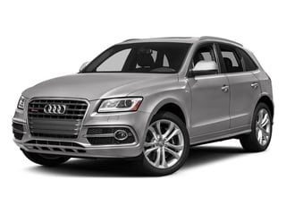 Florett Silver Metallic 2017 Audi SQ5 Pictures SQ5 Utility 4D Prestige AWD V6 photos front view