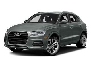 Monsoon Gray Metallic 2017 Audi Q3 Pictures Q3 2.0 TFSI Premium quattro AWD photos front view