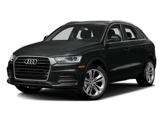 Mythos Black Metallic 2017 Audi Q3 Pictures Q3 2.0 TFSI Premium quattro AWD photos front view