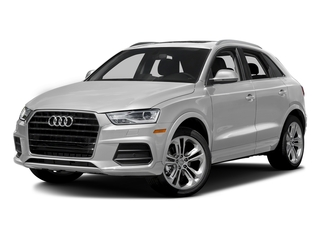 Glacier White Metallic 2017 Audi Q3 Pictures Q3 2.0 TFSI Premium quattro AWD photos front view