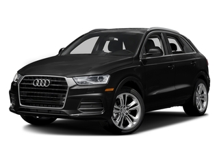 Brilliant Black 2017 Audi Q3 Pictures Q3 2.0 TFSI Premium quattro AWD photos front view