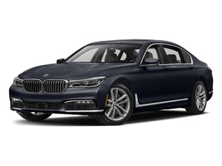 Azurite Black Metallic 2017 BMW 7 Series Pictures 7 Series Sedan 4D 750xi AWD Turbo photos front view