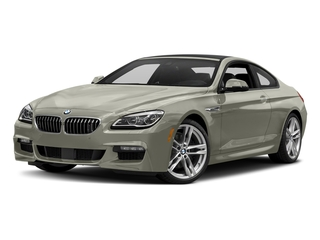 Moonstone Metallic 2017 BMW 6 Series Pictures 6 Series Coupe 2D 650i V8 photos front view