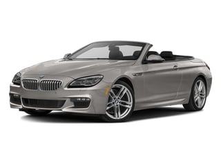 Cashmere Silver Metallic 2017 BMW 6 Series Pictures 6 Series Convertible 2D 650i V8 photos front view