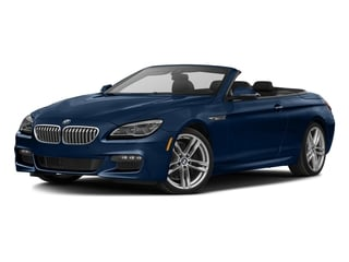 Mediterranean Blue Metallic 2017 BMW 6 Series Pictures 6 Series Convertible 2D 650i V8 photos front view