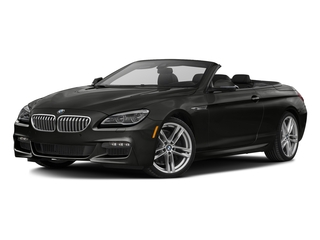 Citrin Black Metallic 2017 BMW 6 Series Pictures 6 Series Convertible 2D 650i V8 photos front view