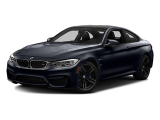 Azurite Black Metallic 2017 BMW M4 Pictures M4 Coupe 2D M4 I6 Turbo photos front view