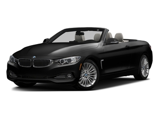 Black Sapphire Metallic 2017 BMW 4 Series Pictures 4 Series Convertible 2D 430xi AWD I4 Turbo photos front view