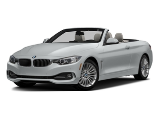 Glacier Silver Metallic 2017 BMW 4 Series Pictures 4 Series Convertible 2D 430xi AWD I4 Turbo photos front view