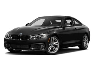Black Sapphire Metallic 2017 BMW 4 Series Pictures 4 Series Coupe 2D 440i I6 Turbo photos front view
