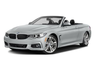 Glacier Silver Metallic 2017 BMW 4 Series Pictures 4 Series Convertible 2D 440i I6 Turbo photos front view