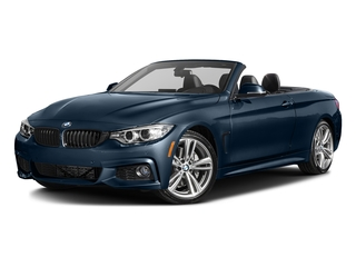 Midnight Blue Metallic 2017 BMW 4 Series Pictures 4 Series Convertible 2D 440i I6 Turbo photos front view