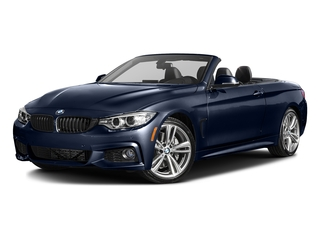 Tanzanite Blue Metallic 2017 BMW 4 Series Pictures 4 Series Convertible 2D 440i I6 Turbo photos front view