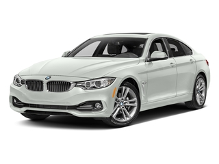 Alpine White 2017 BMW 4 Series Pictures 4 Series Sedan 4D 430xi AWD I4 Turbo photos front view