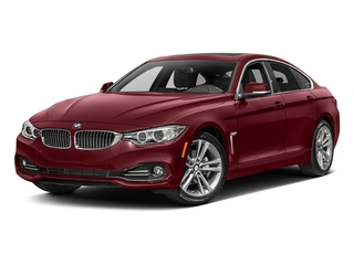 Melbourne Red Metallic 2017 BMW 4 Series Pictures 4 Series Sedan 4D 430xi AWD I4 Turbo photos front view