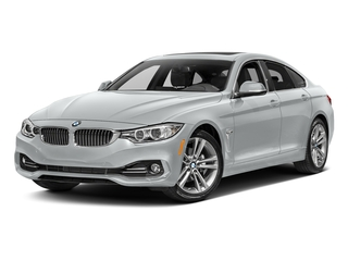Glacier Silver Metallic 2017 BMW 4 Series Pictures 4 Series Sedan 4D 430xi AWD I4 Turbo photos front view