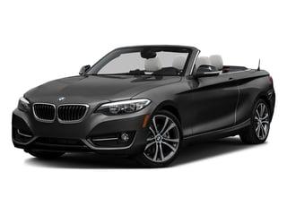 Black Sapphire Metallic 2017 BMW 2 Series Pictures 2 Series Convertible 2D 230xi AWD I4 Turbo photos front view
