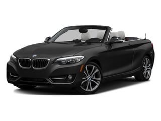 Jet Black 2017 BMW 2 Series Pictures 2 Series Convertible 2D 230xi AWD I4 Turbo photos front view