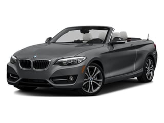 Mineral Gray Metallic 2017 BMW 2 Series Pictures 2 Series Convertible 2D 230xi AWD I4 Turbo photos front view