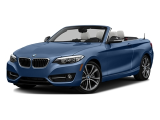 Estoril Blue Metallic 2017 BMW 2 Series Pictures 2 Series Convertible 2D 230xi AWD I4 Turbo photos front view