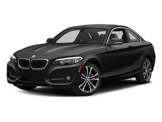 Jet Black 2017 BMW 2 Series Pictures 2 Series Coupe 2D 230xi AWD I4 Turbo photos front view