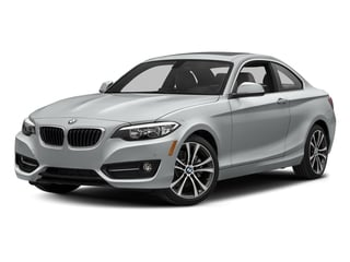 Glacier Silver Metallic 2017 BMW 2 Series Pictures 2 Series Coupe 2D 230xi AWD I4 Turbo photos front view