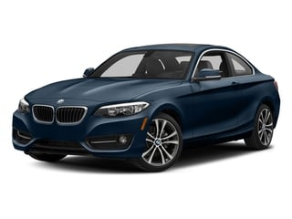 Midnight Blue Metallic 2017 BMW 2 Series Pictures 2 Series Coupe 2D 230xi AWD I4 Turbo photos front view