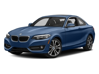 Estoril Blue Metallic 2017 BMW 2 Series Pictures 2 Series Coupe 2D 230xi AWD I4 Turbo photos front view