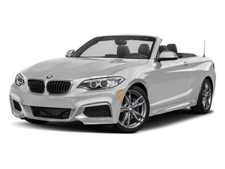 Mineral White Metallic 2017 BMW 2 Series Pictures 2 Series Convertible 2D M240i I6 Turbo photos front view
