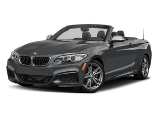 Mineral Gray Metallic 2017 BMW 2 Series Pictures 2 Series Convertible 2D M240i I6 Turbo photos front view