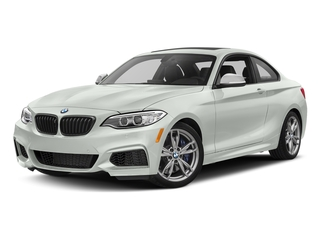 Alpine White 2017 BMW 2 Series Pictures 2 Series Coupe 2D M240i I6 Turbo photos front view