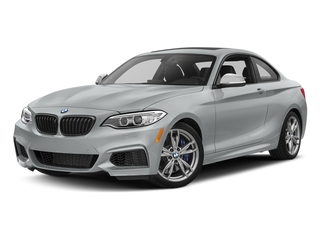 Glacier Silver Metallic 2017 BMW 2 Series Pictures 2 Series Coupe 2D M240i I6 Turbo photos front view