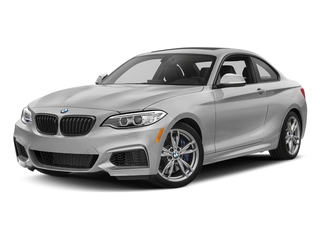 Mineral White Metallic 2017 BMW 2 Series Pictures 2 Series Coupe 2D M240i I6 Turbo photos front view