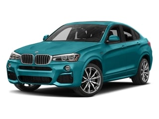 Long Beach Blue Metallic 2017 BMW X4 Pictures X4 Utility 4D M40i AWD I6 Turbo photos front view