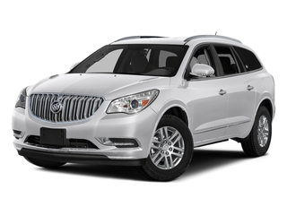 Summit White 2017 Buick Enclave Pictures Enclave Utility 4D Premium 2WD V6 photos front view