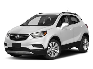 Summit White 2017 Buick Encore Pictures Encore Utility 4D Preferred 2WD I4 Turbo photos front view