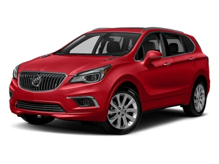 Chili Red Metallilc 2017 Buick Envision Pictures Envision Utility 4D Premium II AWD I4 Turbo photos front view