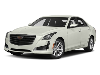 Crystal White Tricoat 2017 Cadillac CTS Sedan Pictures CTS Sedan 4D AWD I4 Turbo photos front view