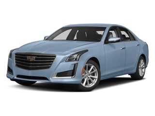 Silver Moonlight Metallic 2017 Cadillac CTS Sedan Pictures CTS Sedan 4D AWD I4 Turbo photos front view
